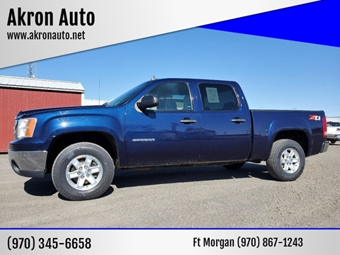 2012 GMC Sierra 1500 for sale at Akron Auto - Fort Morgan in Fort Morgan CO