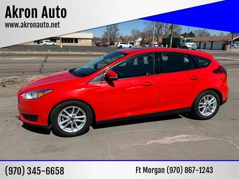 2016 Ford Focus for sale at Akron Auto - Fort Morgan in Fort Morgan CO
