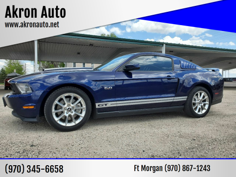 2011 Ford Mustang GT for sale at Akron Auto in Akron CO