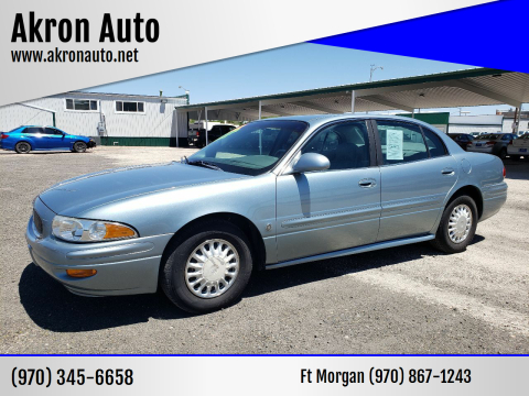 2003 Buick LeSabre Custom for sale at Akron Auto in Akron CO