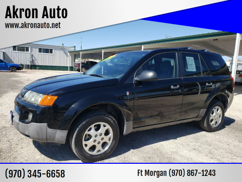 2003 Saturn Vue for sale at Akron Auto in Akron CO