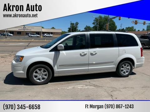 2010 Chrysler Town and Country for sale at Akron Auto in Akron CO