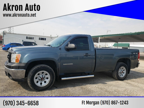 2013 GMC Sierra 1500 for sale at Akron Auto - Fort Morgan in Fort Morgan CO