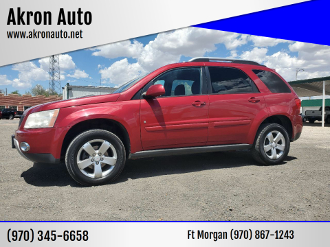 2006 Pontiac Torrent for sale at Akron Auto - Fort Morgan in Fort Morgan CO
