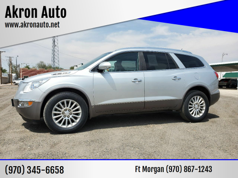 2010 Buick Enclave for sale at Akron Auto in Akron CO