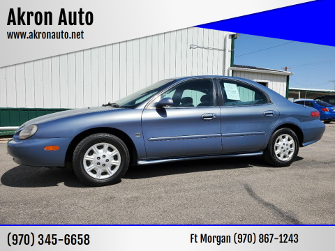 1999 Mercury Sable for sale at Akron Auto in Akron CO