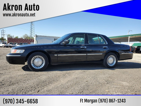 2002 Mercury Grand Marquis for sale at Akron Auto in Akron CO