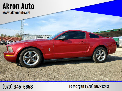2006 Ford Mustang for sale at Akron Auto in Akron CO