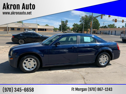 2005 Chrysler 300 for sale at Akron Auto - Fort Morgan in Fort Morgan CO