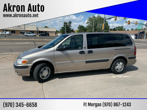2003 Chevrolet Venture for sale at Akron Auto - Fort Morgan in Fort Morgan CO