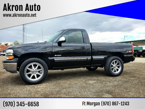 1999 Chevrolet Silverado 1500 for sale at Akron Auto in Akron CO