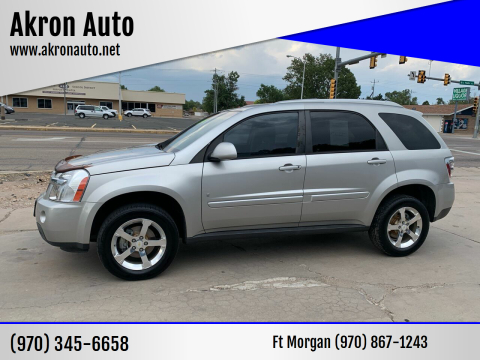 2007 Chevrolet Equinox for sale at Akron Auto - Fort Morgan in Fort Morgan CO