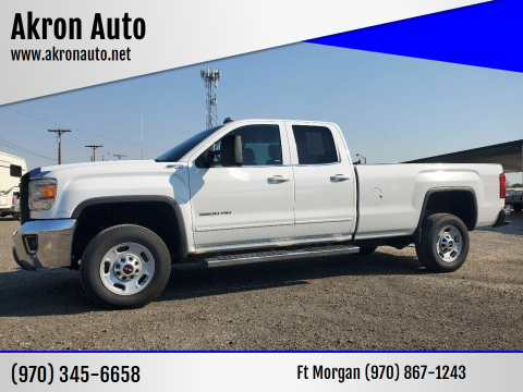 2015 GMC Sierra 2500HD for sale at Akron Auto in Akron CO