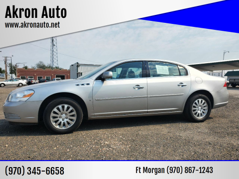 2007 Buick Lucerne for sale at Akron Auto in Akron CO