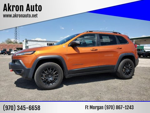 2014 Jeep Cherokee for sale at Akron Auto - Fort Morgan in Fort Morgan CO
