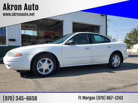 2004 Oldsmobile Alero for sale at Akron Auto - Fort Morgan in Fort Morgan CO