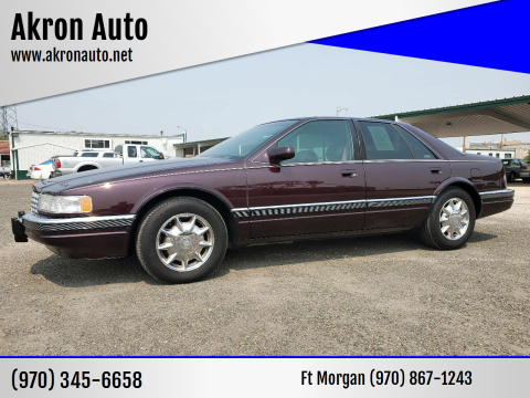 1996 Cadillac Seville for sale at Akron Auto in Akron CO
