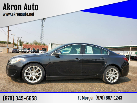 2015 Buick Regal for sale at Akron Auto in Akron CO