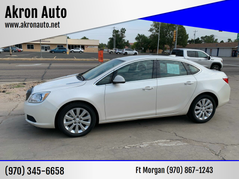 2015 Buick Verano for sale at Akron Auto - Fort Morgan in Fort Morgan CO