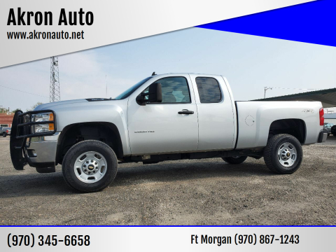 2013 Chevrolet Silverado 2500HD for sale at Akron Auto in Akron CO