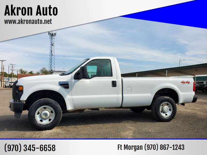 2008 Ford F-250 Super Duty for sale at Akron Auto in Akron CO