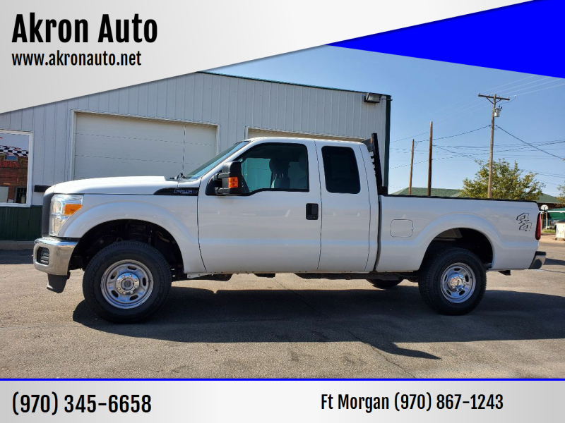 2015 Ford F-250 Super Duty for sale at Akron Auto - Fort Morgan in Fort Morgan CO