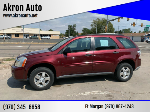 2008 Chevrolet Equinox for sale at Akron Auto - Fort Morgan in Fort Morgan CO