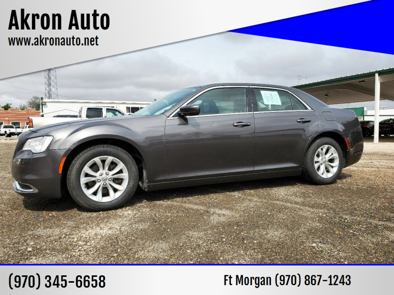 2016 Chrysler 300 for sale at Akron Auto in Akron CO