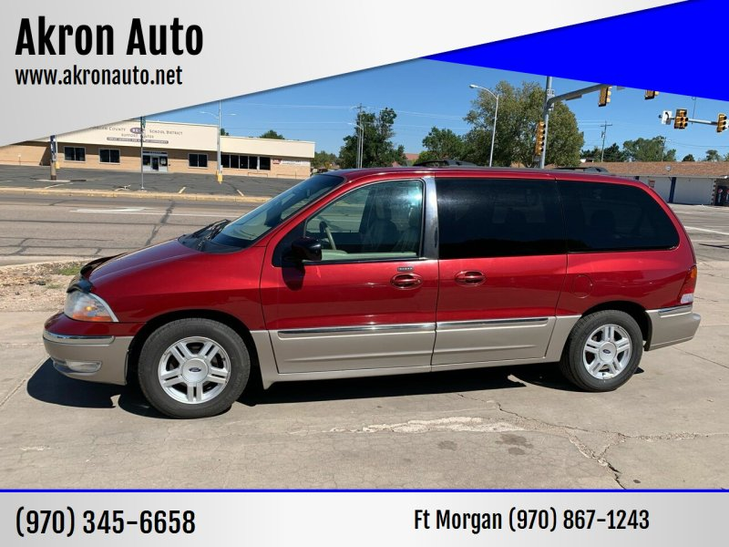 2003 Ford Windstar for sale at Akron Auto - Fort Morgan in Fort Morgan CO