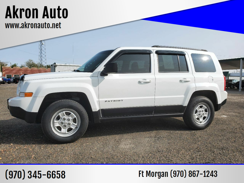2015 Jeep Patriot for sale at Akron Auto in Akron CO