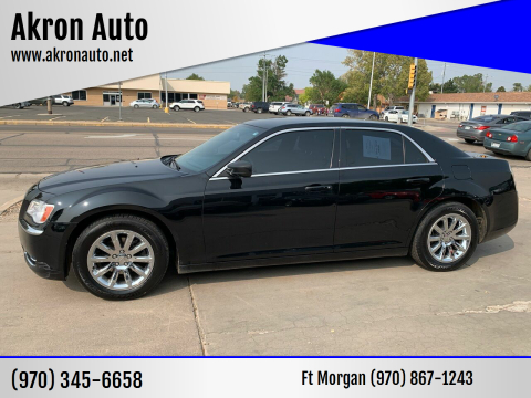 2014 Chrysler 300 for sale at Akron Auto - Fort Morgan in Fort Morgan CO