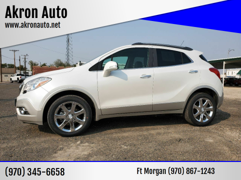 2014 Buick Encore for sale at Akron Auto in Akron CO