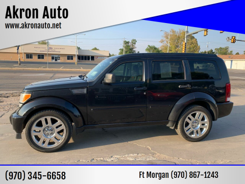 2008 Dodge Nitro for sale at Akron Auto - Fort Morgan in Fort Morgan CO