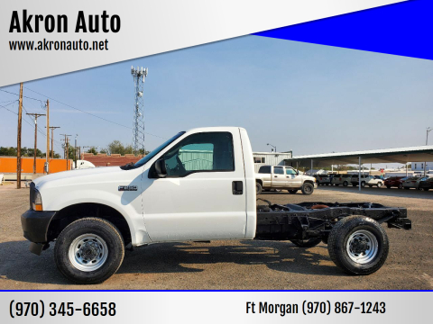 2003 Ford F-250 Super Duty for sale at Akron Auto in Akron CO