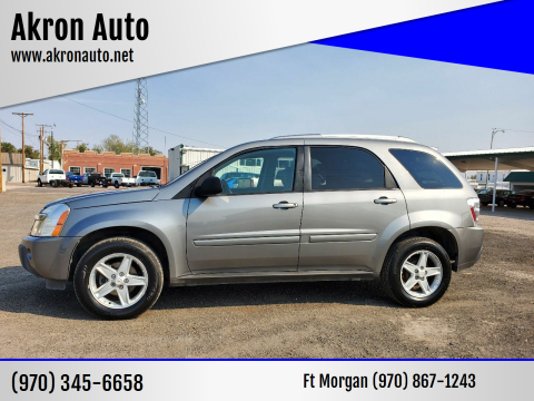 2005 Chevrolet Equinox for sale at Akron Auto in Akron CO