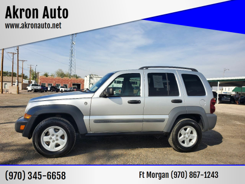 2005 Jeep Liberty for sale at Akron Auto in Akron CO