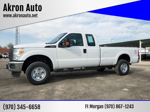 2015 Ford F-250 Super Duty for sale at Akron Auto in Akron CO