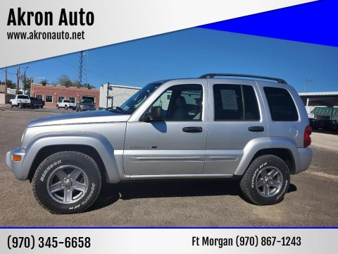 2003 Jeep Liberty for sale at Akron Auto in Akron CO