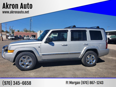2006 Jeep Commander for sale at Akron Auto in Akron CO