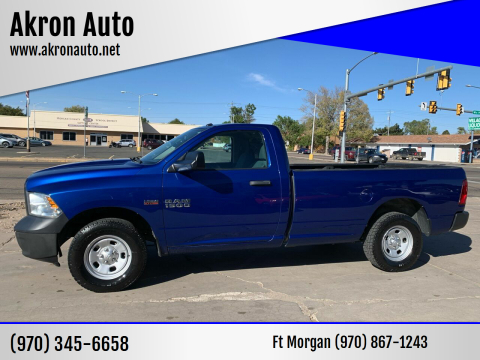 2015 RAM Ram Pickup 1500 for sale at Akron Auto - Fort Morgan in Fort Morgan CO