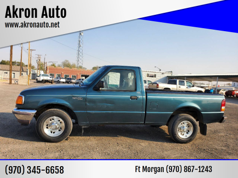 1997 Ford Ranger for sale at Akron Auto in Akron CO