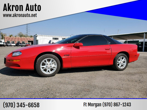 2002 Chevrolet Camaro for sale at Akron Auto in Akron CO