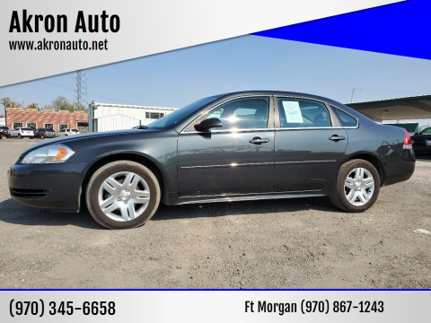 2014 Chevrolet Impala Limited for sale at Akron Auto in Akron CO