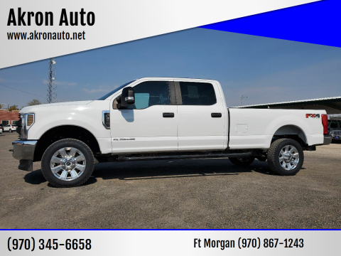2019 Ford F-350 Super Duty for sale at Akron Auto in Akron CO