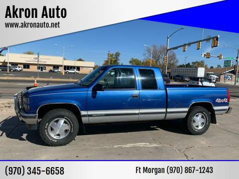 1997 GMC Sierra 1500 for sale at Akron Auto - Fort Morgan in Fort Morgan CO