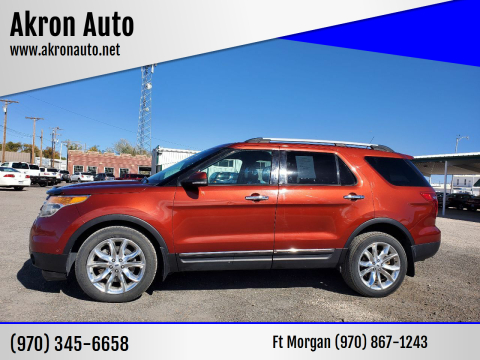 2014 Ford Explorer for sale at Akron Auto in Akron CO