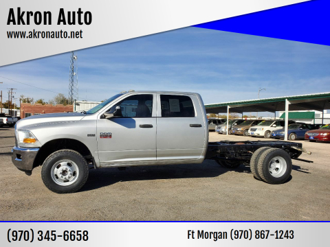 2011 RAM Ram Chassis 3500 for sale at Akron Auto in Akron CO