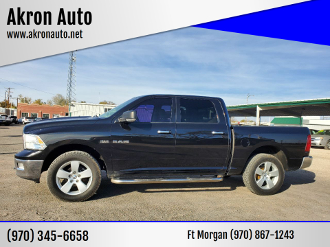 2009 Dodge Ram Pickup 1500 for sale at Akron Auto in Akron CO