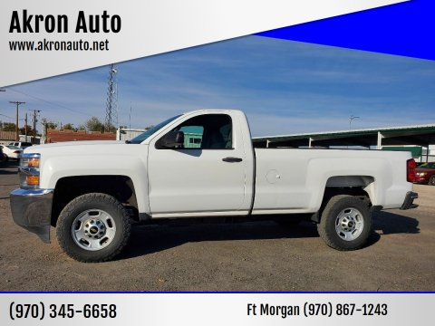 2015 Chevrolet Silverado 2500HD for sale at Akron Auto in Akron CO