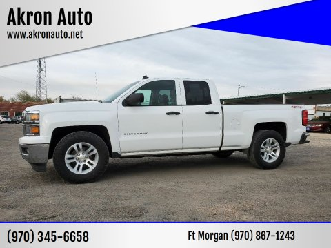 2014 Chevrolet Silverado 1500 for sale at Akron Auto in Akron CO